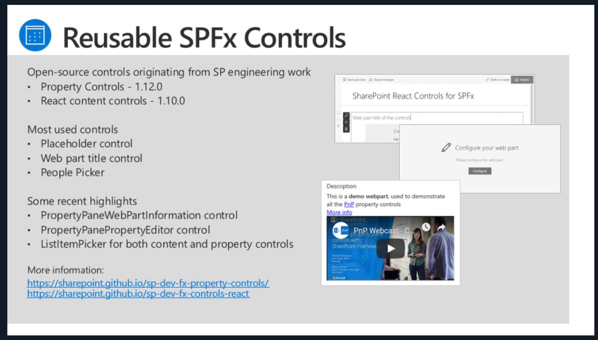 SharePoint PnP Dev SPFx JS SIG Call – Nov 22nd, 2018