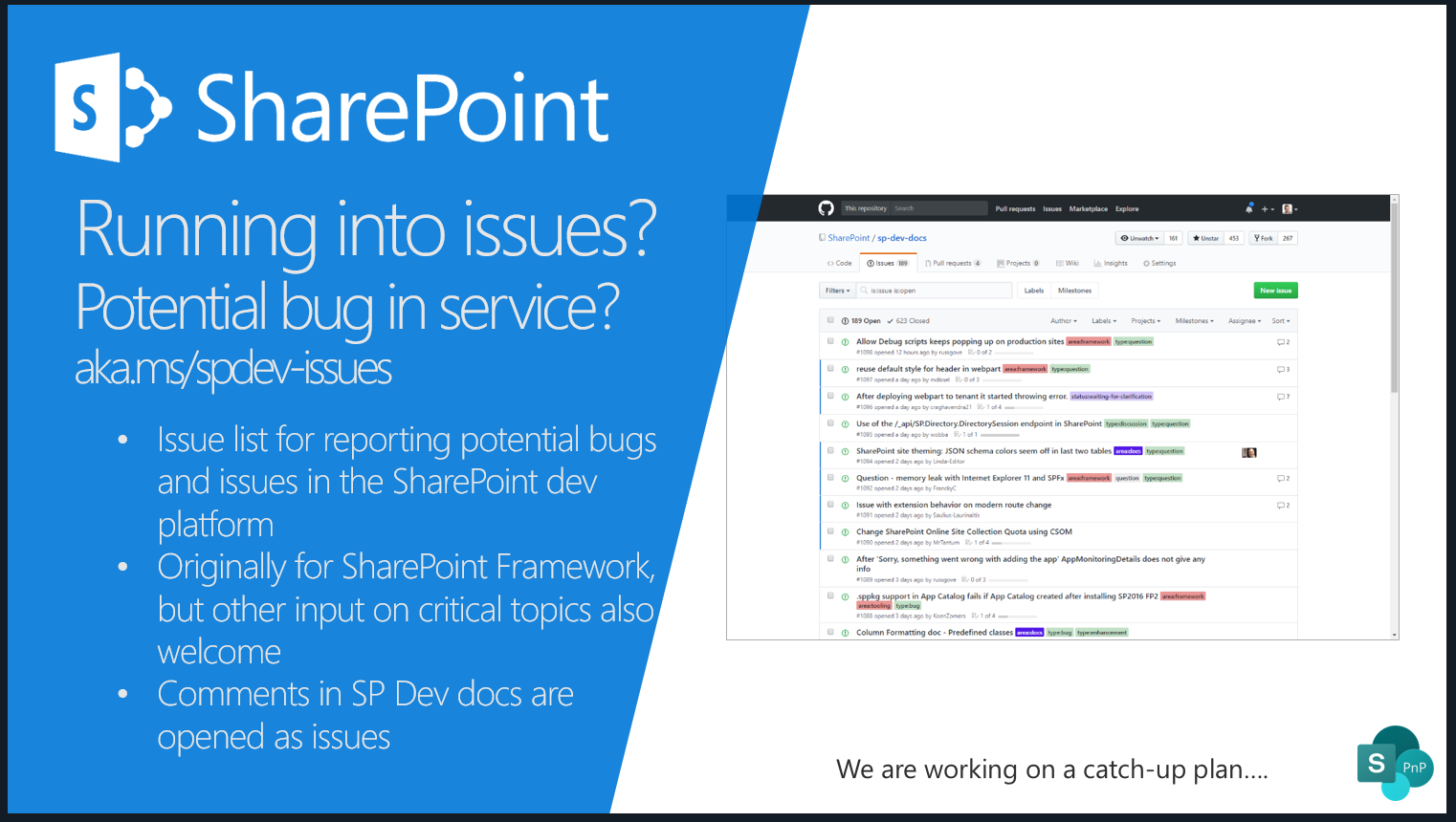 SharePoint PnP Monthly Call – January 8th, 2019 – Screenshot